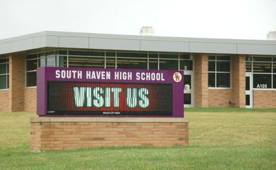 SH high school marquee