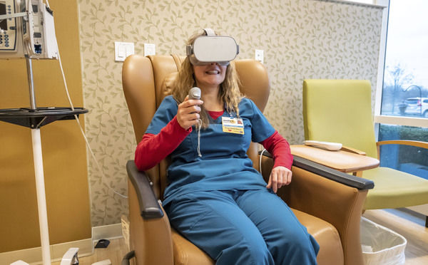 How a high-tech gizmo is helping cancer patients