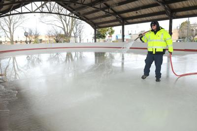 South Haven ice rink photo