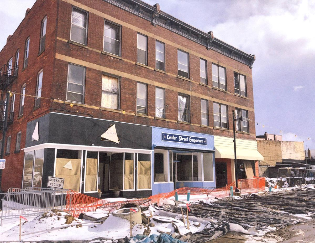 Hale building prior to renovation
