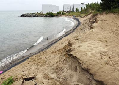 Lakefront losing land - and value