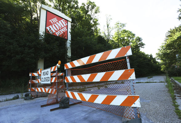 Road department approached about reopening Crystal Avenue entrance