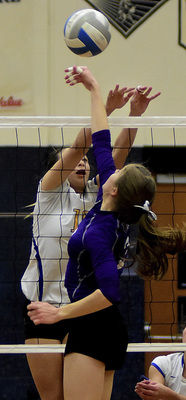Bison topple Titans for district title