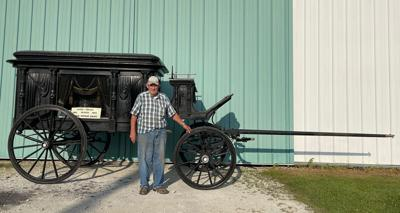 Bauer's Hearse Unveiled for Labor Day Parade