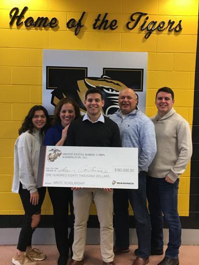 Contreras Receives  Scholarship to Citadel