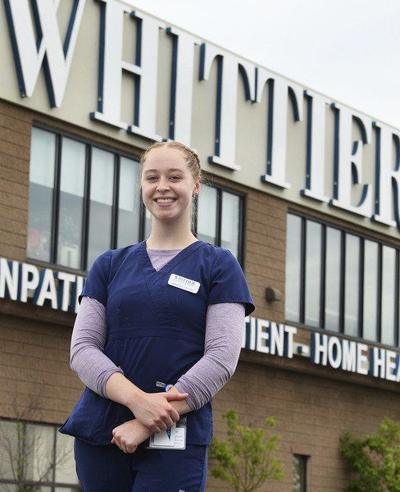Teen becomes nursing assistant, cares for community