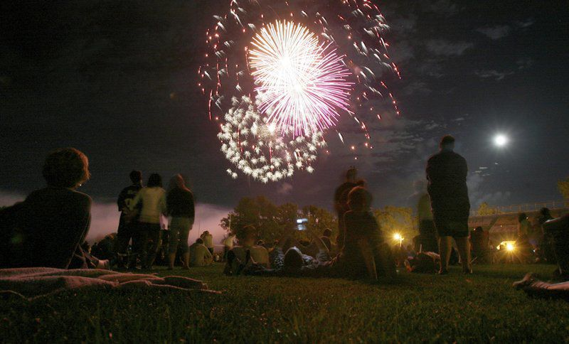 Annual fireworks show is July 3 at Riverside Park