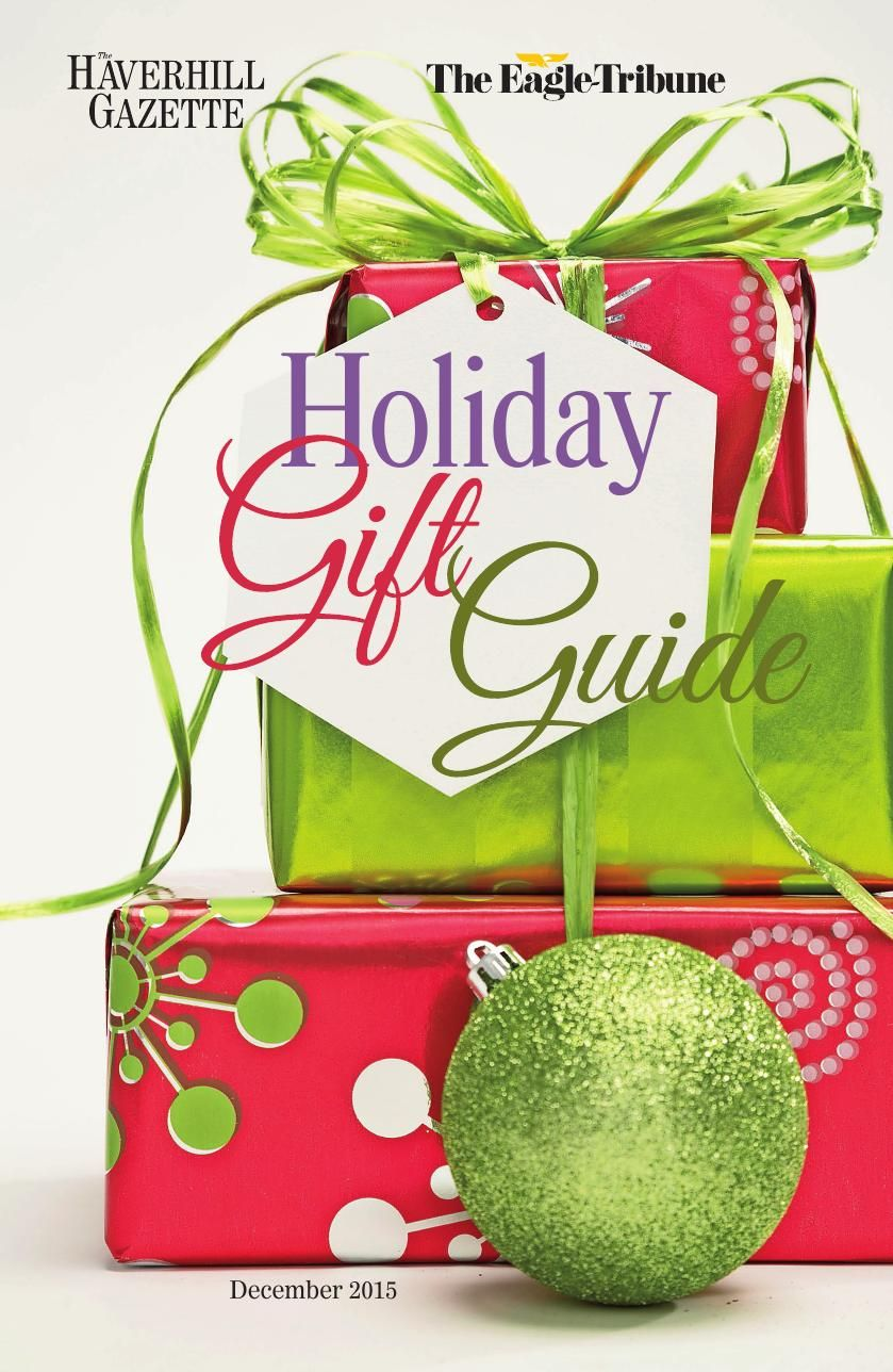 December 2015 Holiday Gift Guide