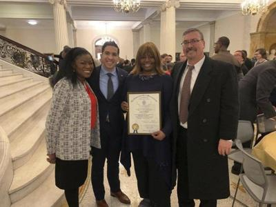 Haverhill women honored at Statehouse gathering