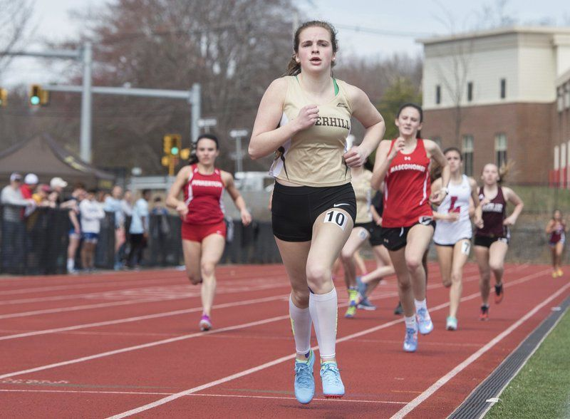 Hillies show their track talent