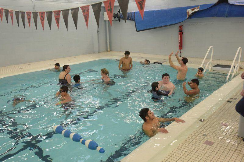 The pool is their classroom local sports - Best public swimming pools in massachusetts ...