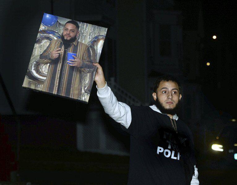 'No justice, no peace' in city neighborhood