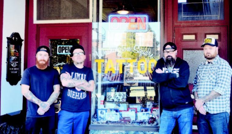 Downtown S New Addition Tattoo Parlor Local News Hgazette Com