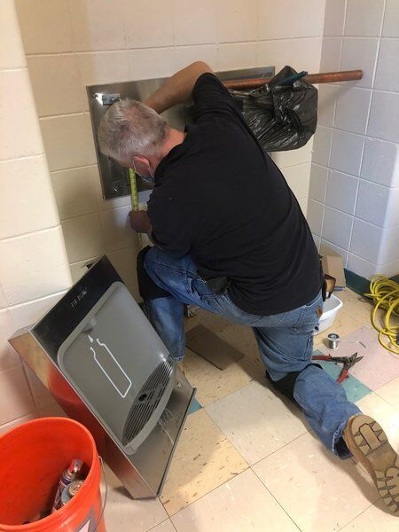 Haverhill schools install water bottle filling stations to protect against COVID-19