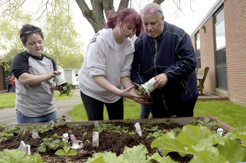 Using their green thumbs