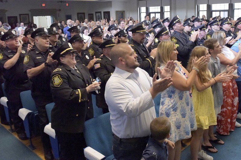 Pistone sworn in as new police chief