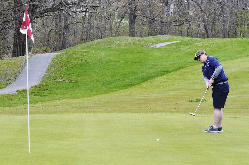 'We really needed this': Golfers return to area courses after governor relaxes rules