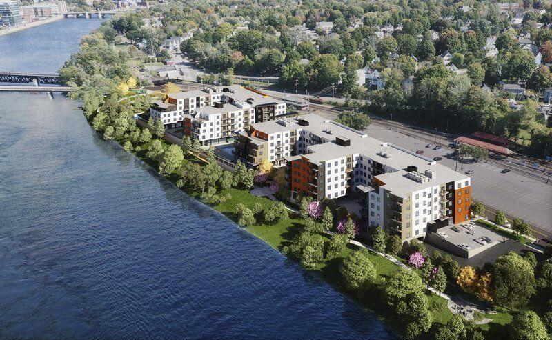 290-unit riverfront complex coming to city