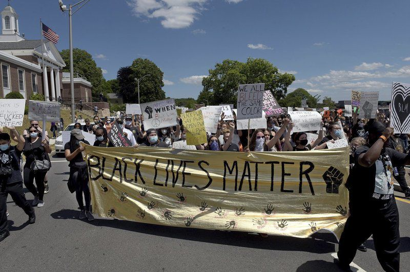 Sounds of national protest heard close to home