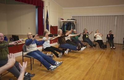 Moderate exercise offered to seniors