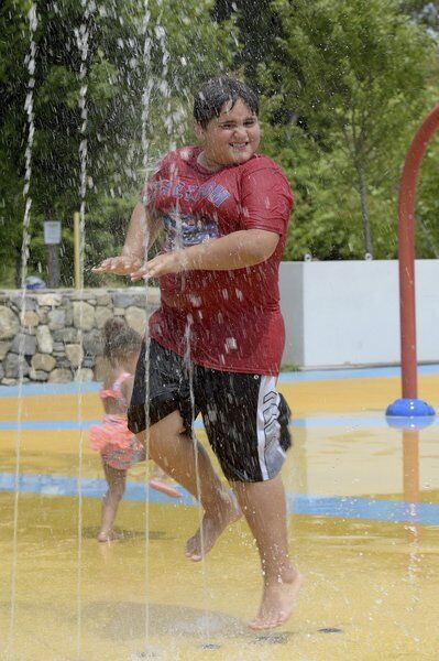 A refreshing splash