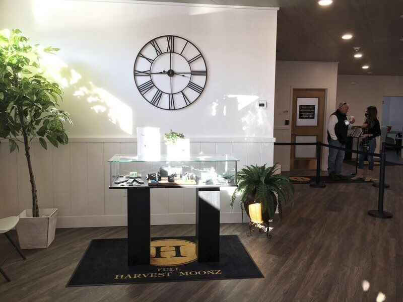 Haverhill's third marijuana shop opens at NH line