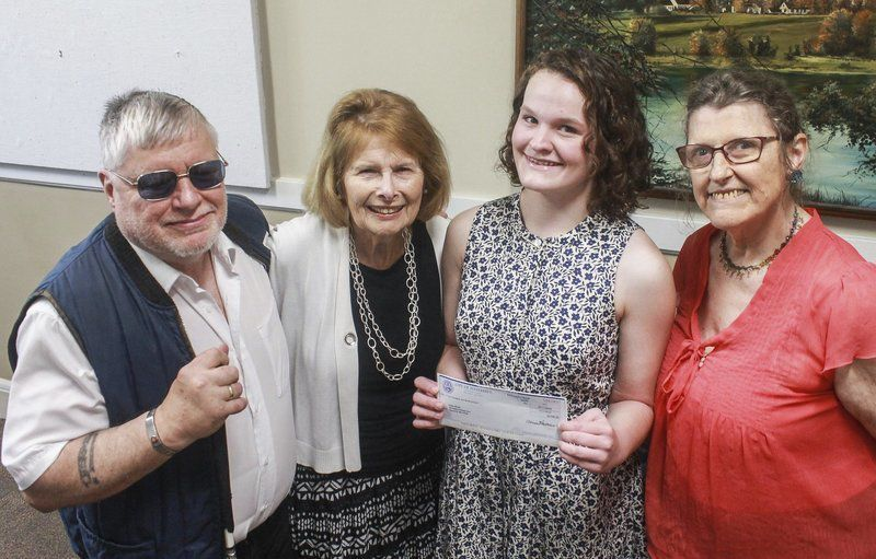 Commission on Disabilities Issues presents scholarship to Haverhill High grad
