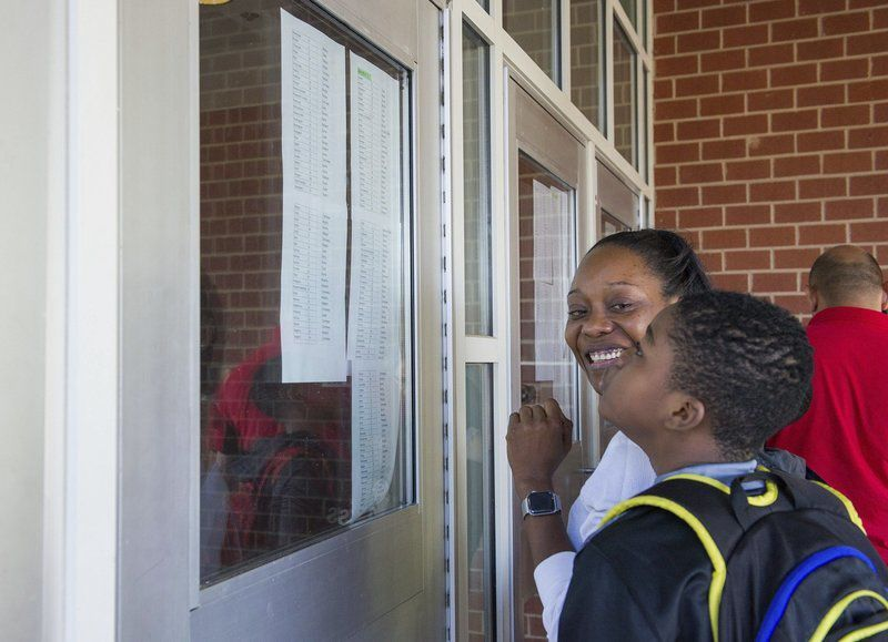 Jitters, excitement on opening day of school