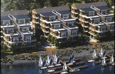 60 luxury condos planned along river