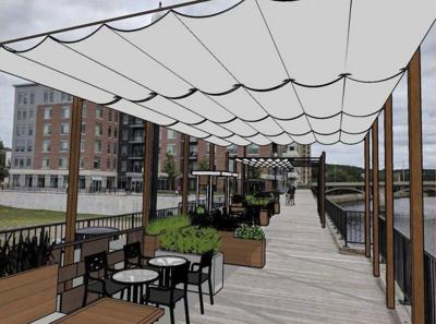 City looks to create dining, retail on riverfront boardwalk
