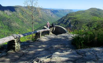 Wisemans View Linville Gorge