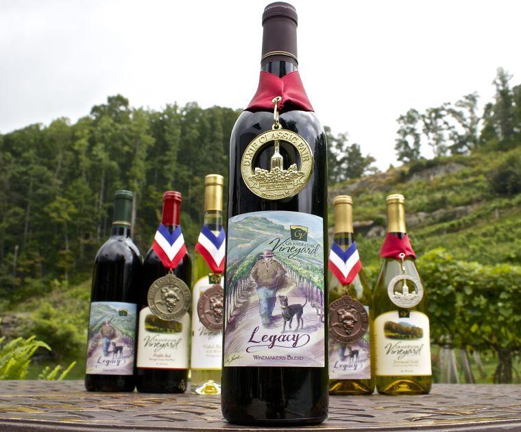 Grandfather Vineyard & Winery awards