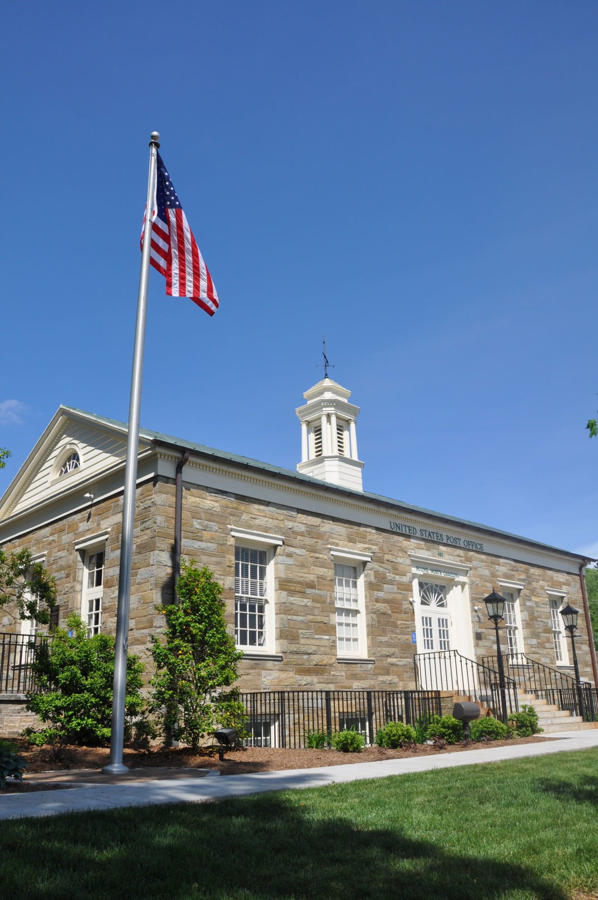 Downtown Boone post office