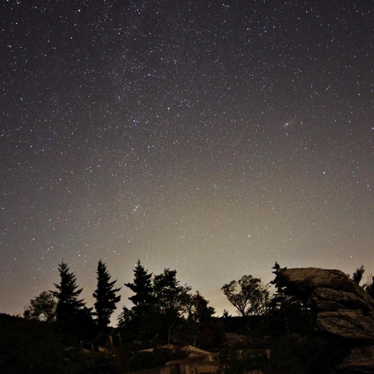 Rough Ridge at Night