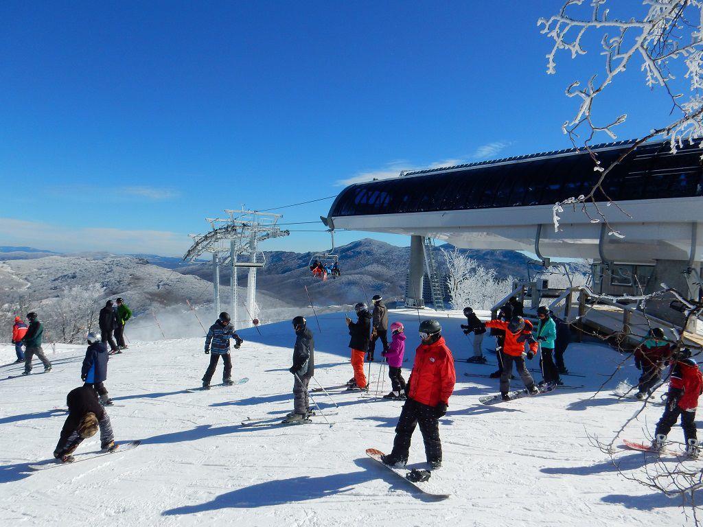 Sugar Mtn. Skiers