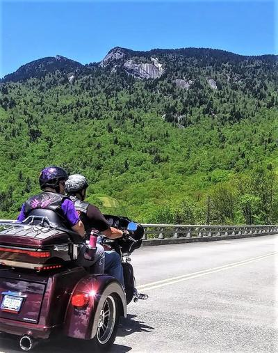 Motorcycling in the High Country