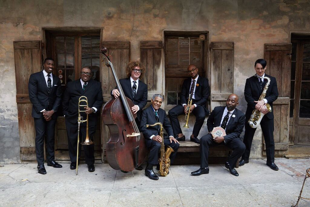 The Preservation Hall Jazz Band brings New Orleans jazz to the Schaefer Center on Sept. 27.