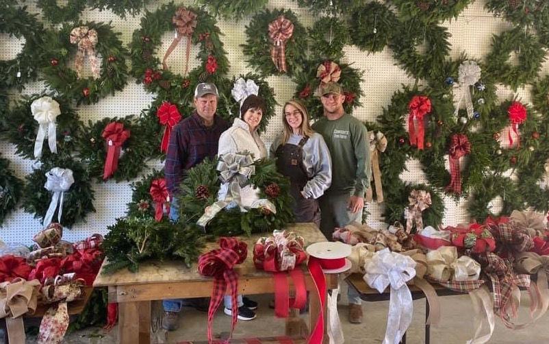 Clawson's wreaths