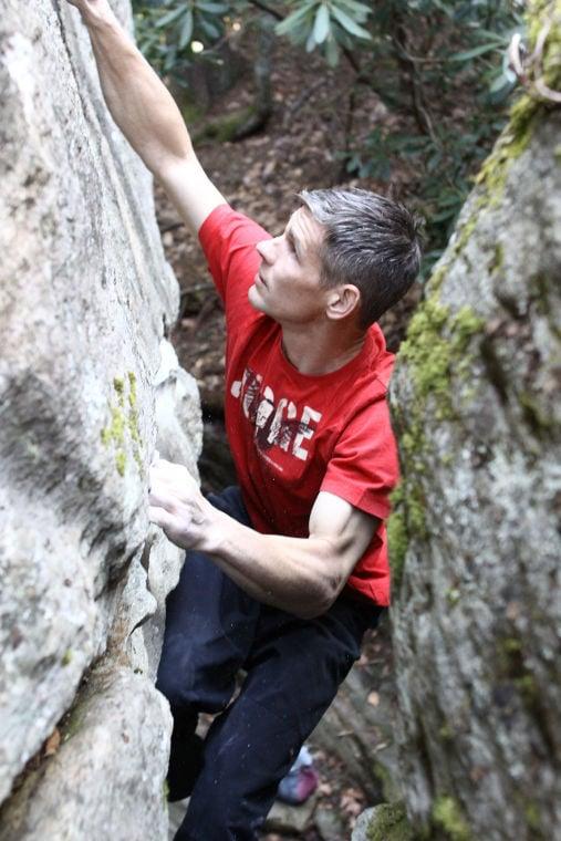 Dean Melton Climbing