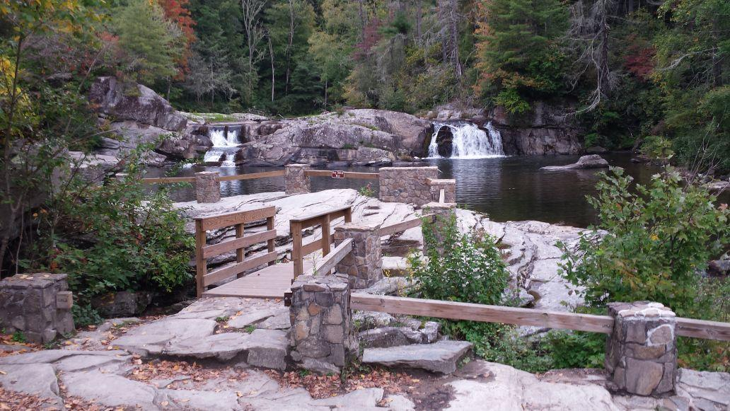 Brpf Hosts Ribbon Cutting For Linville Falls Overlook