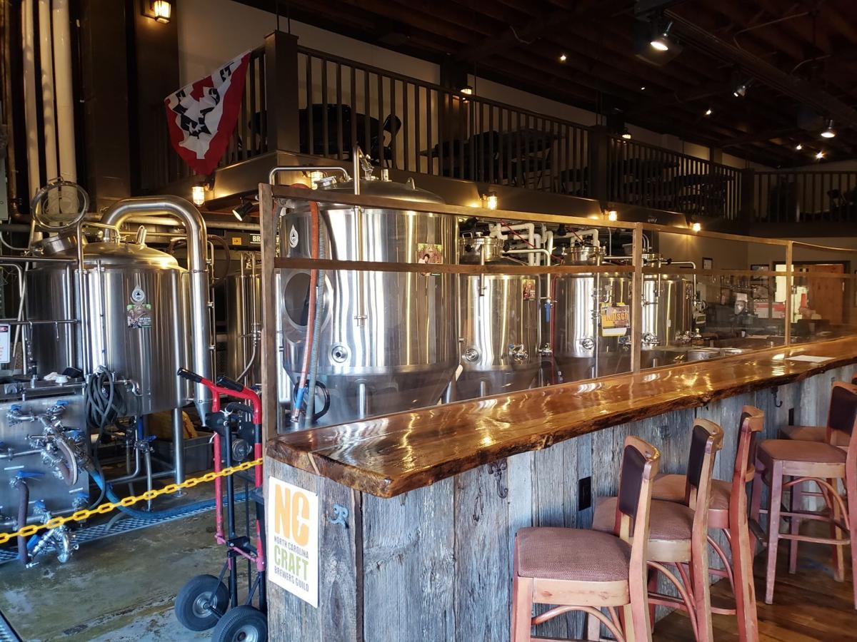 Brew Haus tanks