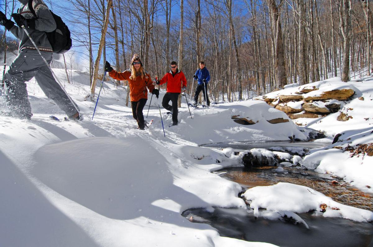 Snowshoeing at Sugar