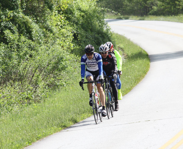 Riders on the Blue Ridge Parkway enjoy a summer day out close to Blowing  Rock. The section between Boone and Linville is one of the most popular  sections ... 31eddf473