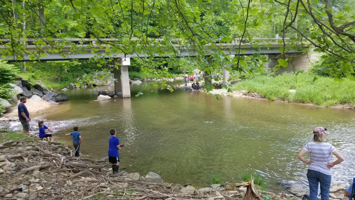 fishing derby at elk river