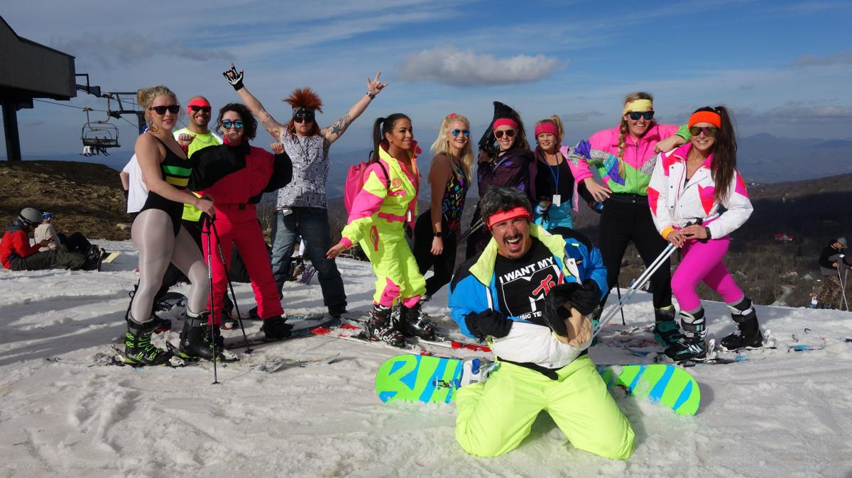 Retro Ski Beech