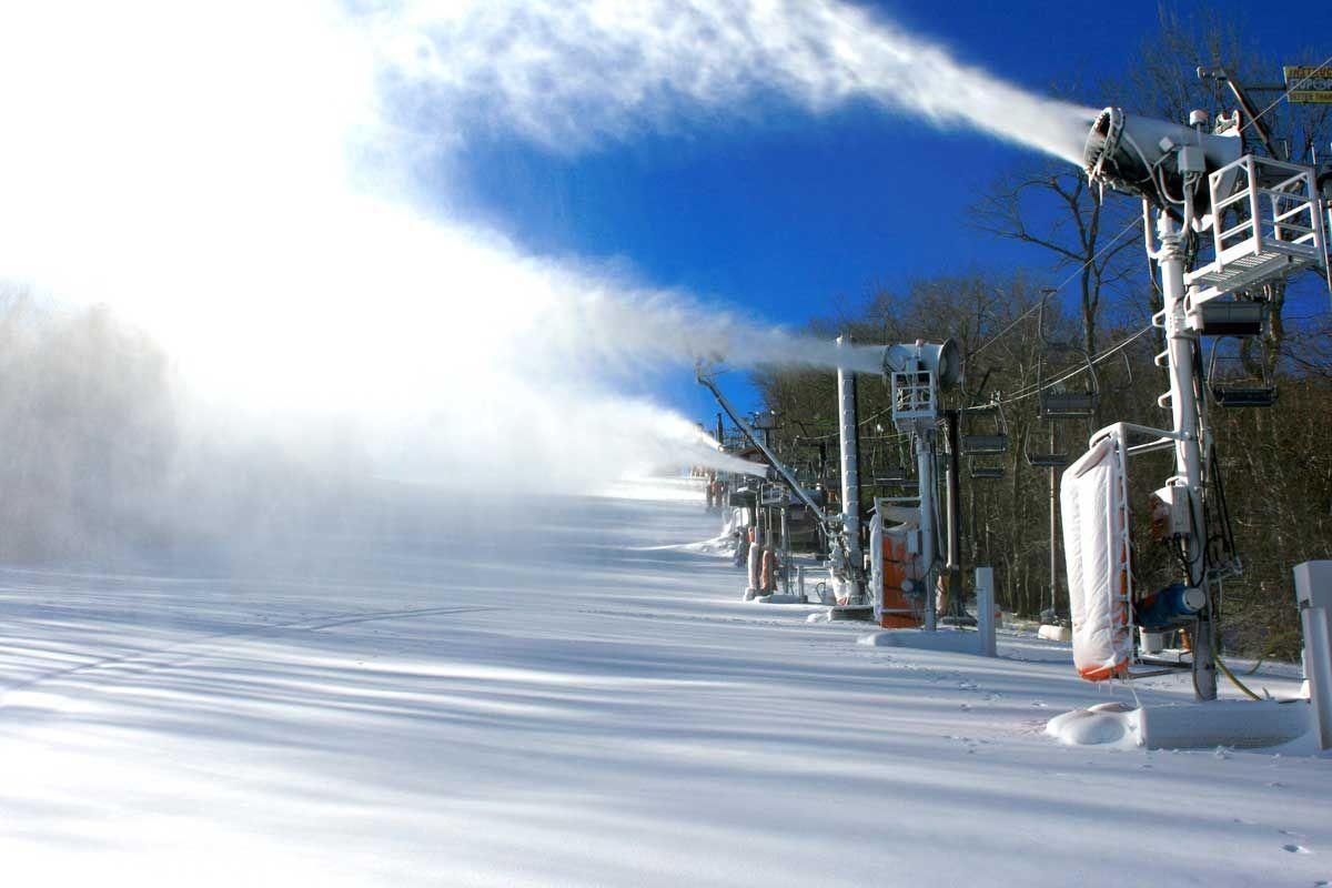 App Ski Mountain snow guns