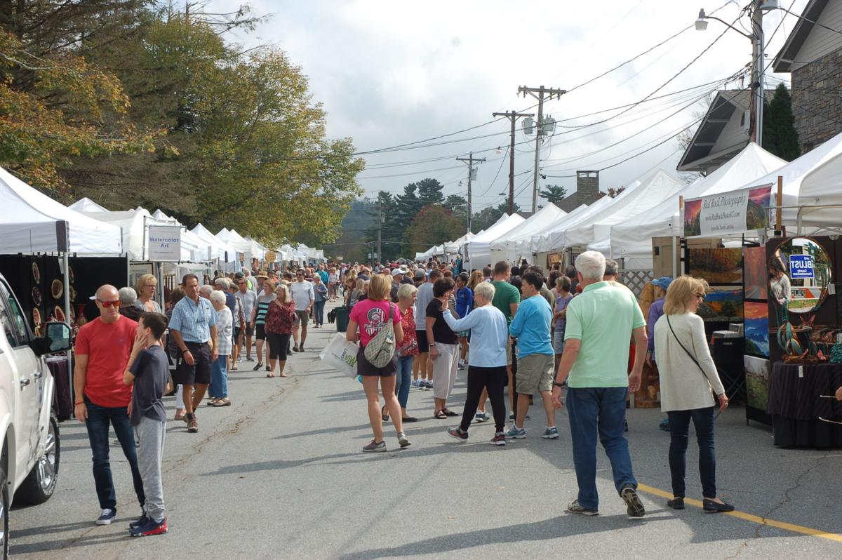 October 2018 Art in the Park