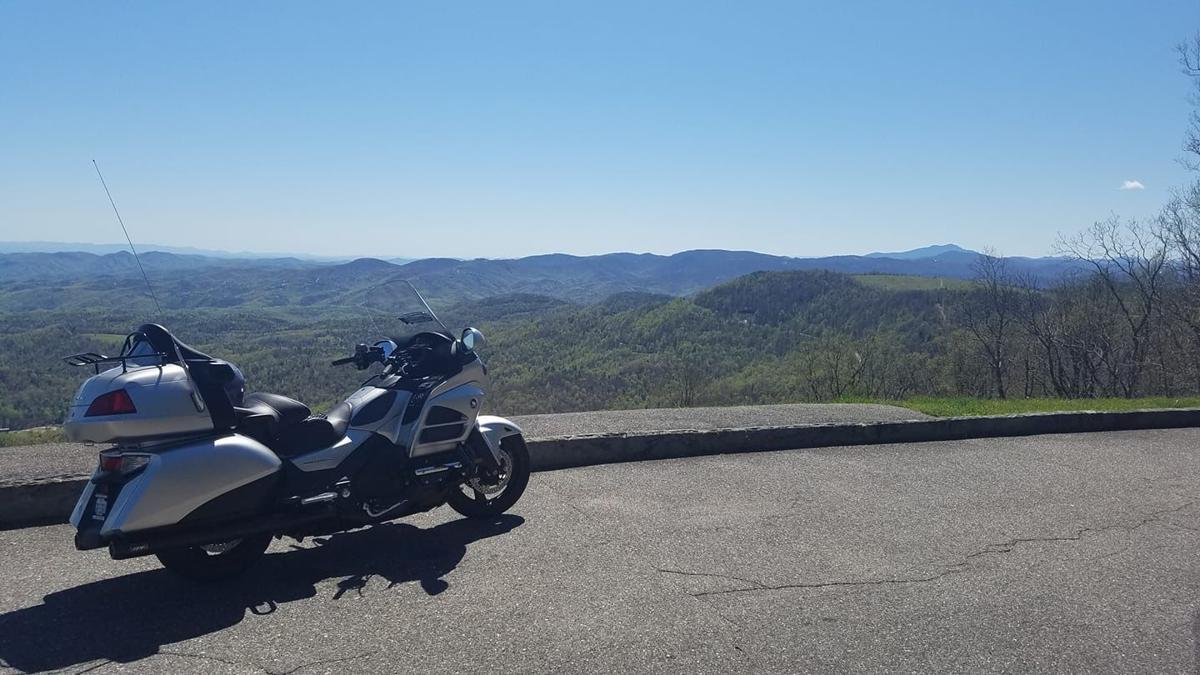 Motorcycle/Blue Ridge Parkway