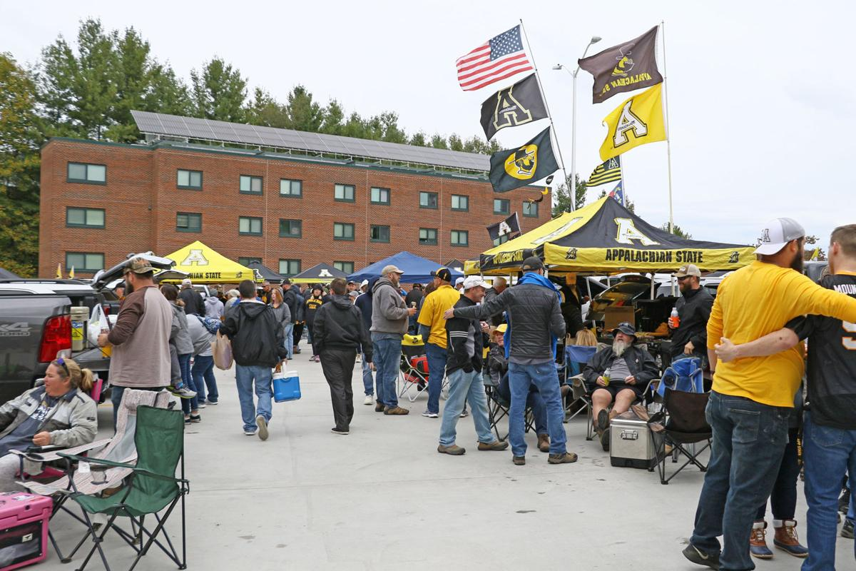 Tailgate on Parking Deck