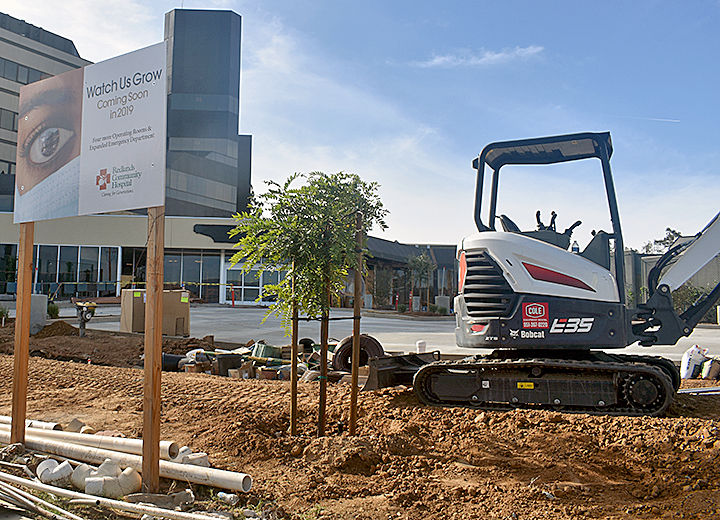The emergency department at Redlands Community Hospital is being expanded